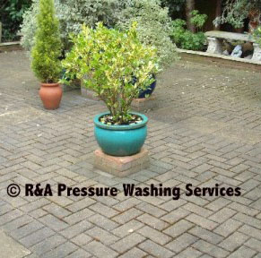 paving stone cleaning