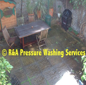 garden patio washing