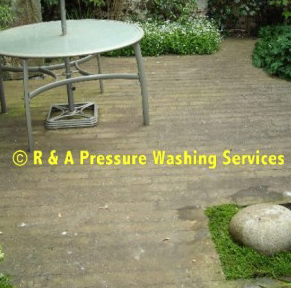 block paving pressure washing