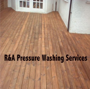 decking cleaning West London