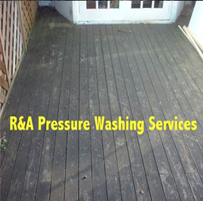 decking cleaning East London
