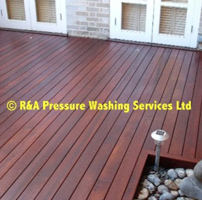decking cleaning South West London