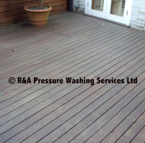 decking cleaning South London