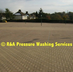 car park pressure cleaning