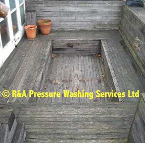 decking pressure washing London