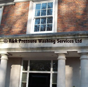 brickwork pressure washing