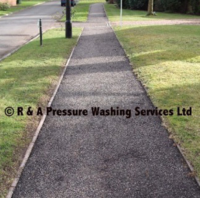 pathway pressure cleaning