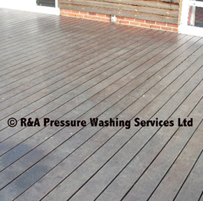 decking pressure washing London Berkshire Buckinghamshire