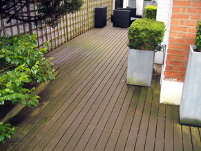 Garden Decking Cleaning 2