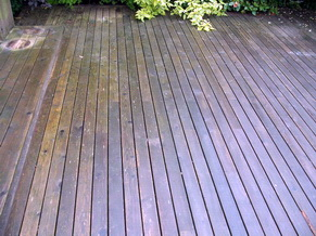 Garden Decking Cleaning 5