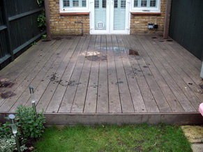 Garden Decking Cleaning 7