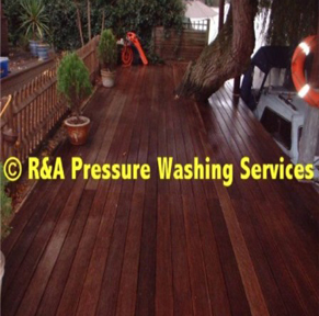 decking cleaning North London