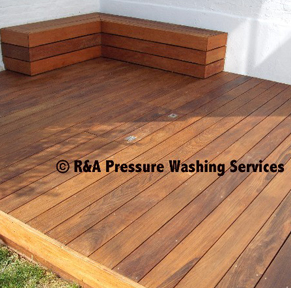 wooden decking cleaning Surrey