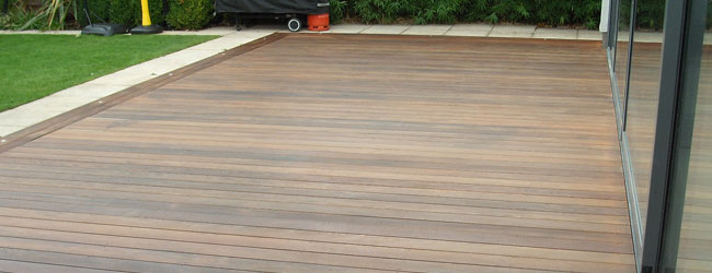 Wooden Decking Cleaning & Restoration