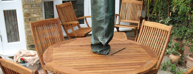 Wooden Garden Furniture Restoration & Cleaning